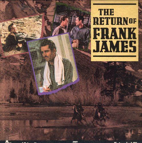 Return Of Frank James - The Return Of Frank James LASER DISC VERSION Starring Henry Fonda, Gene Tierney and Jackie Cooper - NM9/NM9 - Laser Discs