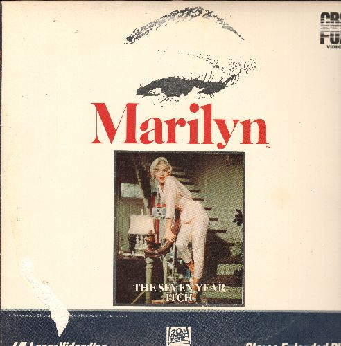 The Seven Year Itch - The Seven Year Itch - LASERDISC version of the Billy Wilder Classic starring Marilyn Monroe (This is a LASERDISC, not any other kind of media!) - NM9/VG7 - LaserDiscs