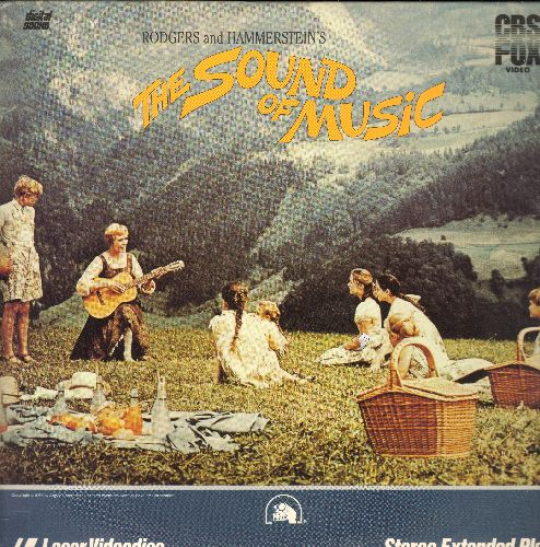 Sound Of Music - The Sound Of Music Double LASER DISC VERSION Starring Julie Andrews and Christopher Plummer - NM9/EX8 - Laser Discs