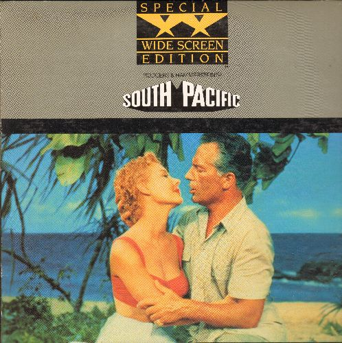 South Pacific - South Pacific Widescreen Double LASER DISC VERSION Starring Rossano Brazzi and Mitzi Gaynor - NM9/EX8 - Laser Discs