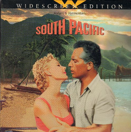 South Pacific - Rodger's & Hammerstein's South Pacific Widescreen Double LASERDISC VERSIONStarring Rossano Brazzi and Mitzi Gaynor - NM9/EX8 - LaserDiscs