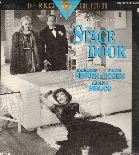 Stage Door - Stage Door LASER DISC VERSION Starring Katharine Hepburn, Ginger Rogers and Adolphie Menjou (bb) - NM9/EX8 - Laser Discs