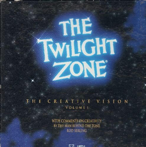 Twilight Zone - The Twilight Zone Creative Vision volume 1 LASER DISC VERSION Set, 5 LASER DISC VERSION includes 15 Episodes - NM9/NM9 - Laser Discs