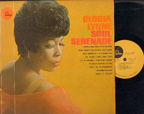 Lynne, Gloria - Soul Serenade: People Will Say We're In Love, If I Loved You, That's My Desire, Teach Me Tonight (vinyl MONO LP record, DJ advance pressing) - NM9/NM9 - LP Records