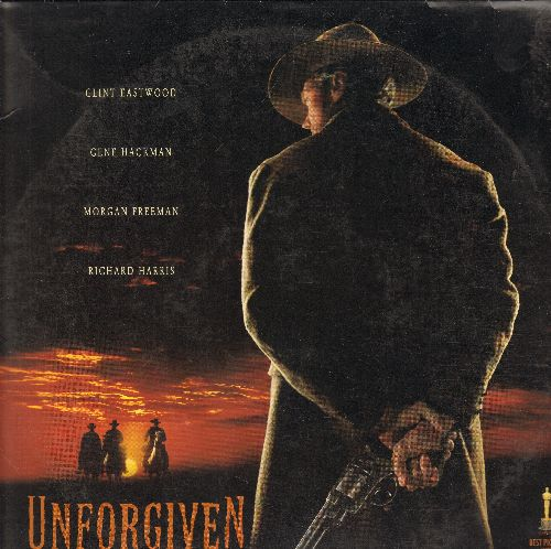 Unforgiven - Unforgiven Double LASER DISC VERSION Starring Clint Eastwood, Gene Hackman, Morgan Freeman, Richard Harris - NM9/NM9 - Laser Discs