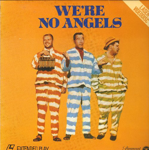 We're No Angles - We're No Angels LASER DISC VERSION Starring Humphrey Bogart, Aldo Ray and Peter Ustinov - NM9/NM9 - Laser Discs