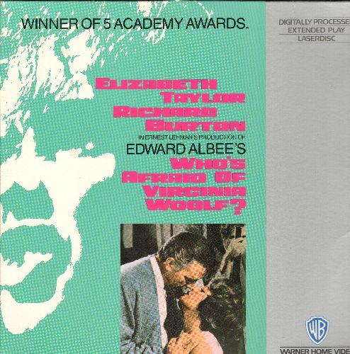 Who's Afraid Of Virginia Woolf? - Who's Afraid Of Virginia Woolf? Double LASER DISC VERSION Starring Elizabeth Taylor and Richard Burton - NM9/NM9 - Laser Discs