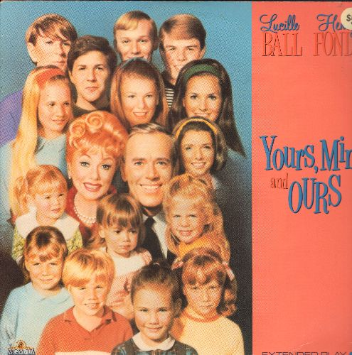 Your's Mine And Ours - Your's Mine And Ours LASERDISC VERSION Starring Henry Fonda and Lucille Ball - NM9/NM9 - LaserDiscs