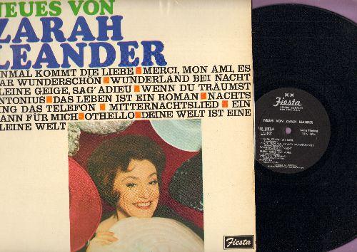 Leander, Zarah - Neues von Zarah Leander: Einmal kommt die Liebe, Wunderland bei Nacht, Mitternachtslied, Othello, Ein Mann fuer mich (Vinyl MONO LP record, US Pressing, sung in German) - NM9/EX8 - LP Records