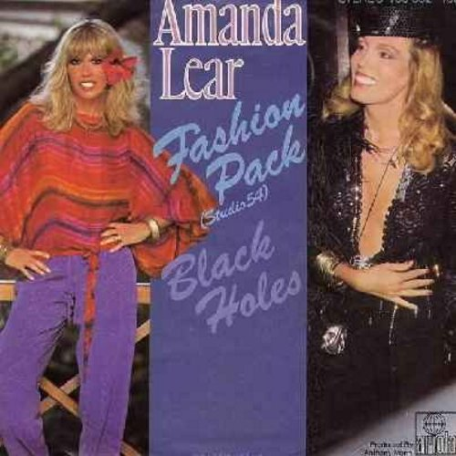 Lear, Amanda - Fashion Pack (Studio 54)/Black Holes (German Pressing, sung in English) - NM9/EX8 - 45 rpm Records