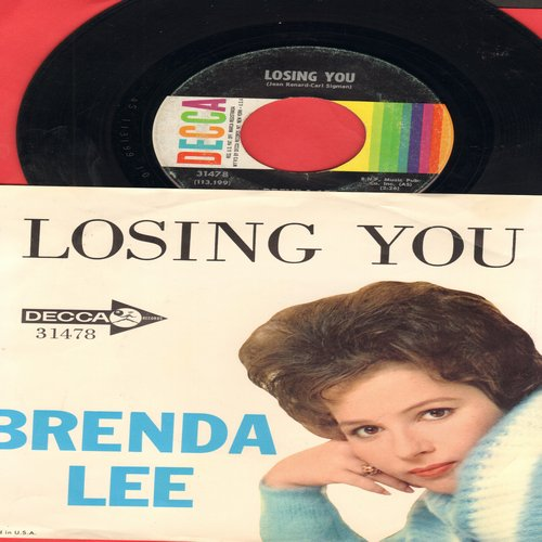 Lee, Brenda - Losing You/He's So Heavenly - NM9/NM9 - 45 rpm Records