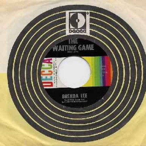 Lee, Brenda - Waiting Game/Think (with Decca company sleeve) - EX8/ - 45 rpm Records