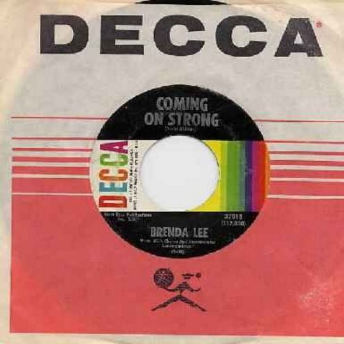 Lee, Brenda - Coming On Strong/You Keep Coming Back To Me (with original company sleeve) - VG7/ - 45 rpm Records