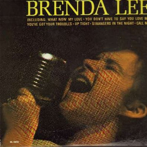 Lee, Brenda - Coming On Strong: What Now My Love, Up Tight, Strangers In The Night, Call Me, You Don't Have To Say You Love Me (Vinyl MONO LP record) - EX8/VG7 - LP Records