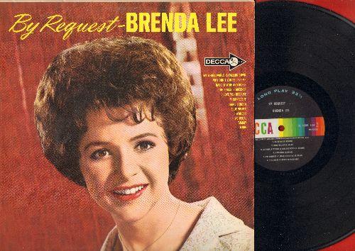 Lee, Brenda - By Request: Danke Schoen, More, Tammy, Blue Velvet, As Usual, I Wonder, The Grass Is Greener (Vinyl MONO LP record) - NM9/EX8 - LP Records