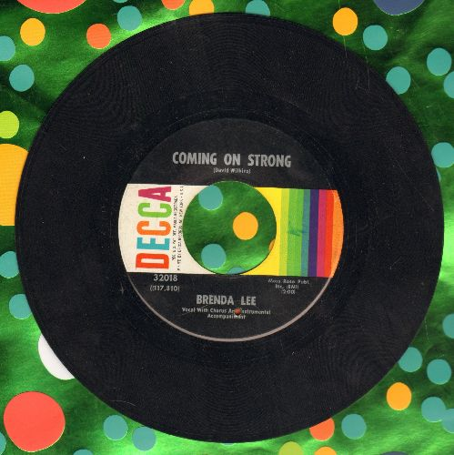 Lee, Brenda - Coming On Strong/You Keep Coming Back To Me  - VG7/ - 45 rpm Records