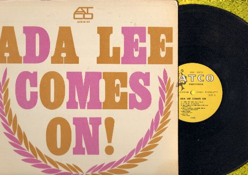 Lee, Ada - Ada Lee Comes On!: Something Missing, It's A Pity To Say Goodnight, I Wish You Love, Domino, Heartaches (Vinyl MONO LP record) - VG7/VG7 - LP Records