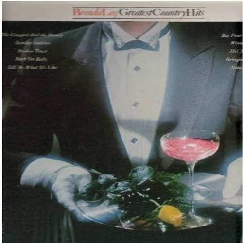 Lee, Brenda - Greatest Country Hits: Broken Trust, Big Four Poster Bed, Wrong Ideas, Tell Me What It's Like, The Cowgirl And The Dandy (Vinyl LP record) - M10/NM9 - LP Records