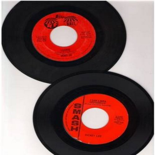 Lee, Dickey - 2 for 1 Special: Laurie/I Saw Linda Yesterday (2 vintage first issue 45rpm records for the price of 1!) - VG6/ - 45 rpm Records