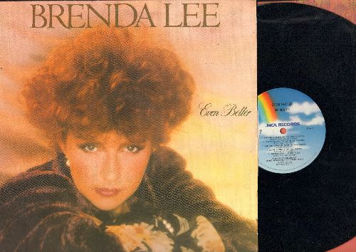 Lee, Brenda - Even Better: Goodbye Love, Memories For Sale, Do You Wanna Spend The Night, The Cowgirl And The Dandy (Vinyl STEREO LP record) - NM9/EX8 - LP Records