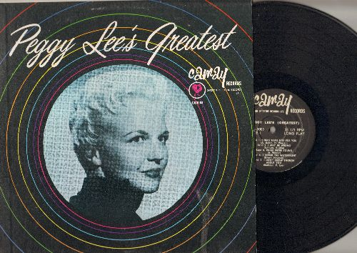 Lee, Peggy - Peggy Lee's Greatest: Manana, I Only Have Eyes For You, Why Don't You Do Right (Vinyl MONO LP record) - NM9/NM9 - LP Records