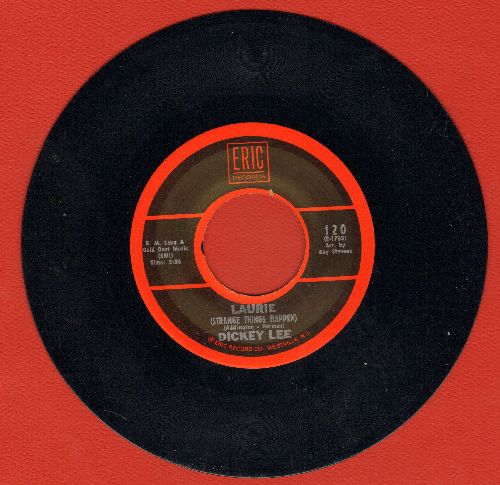 Lee, Dickey - Laurie (Strange Things Happen)/The Girl From Peyton Place (double-hit re-issue, MINT condition) - M10/ - 45 rpm Records