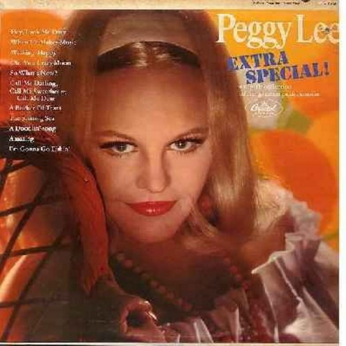 Lee, Peggy - Extra Special!: Hey Look Me Over, So What's New?, A Bucket Of Tears, Amazing, I'm Gonna Go Fishin' (Vinyl MONO LP record) - NM9/EX8 - LP Records