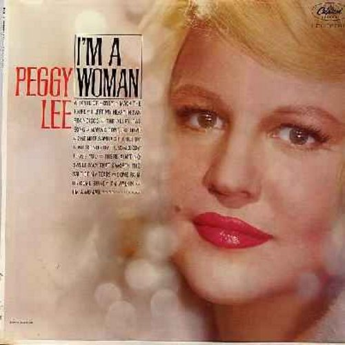 Lee, Peggy - I'm A Woman: Mack The Knife, I Left My Heart In San Francisco, One Note Samba, Come Rain Or Come Shine, I'm Walkin' (Vinyl MONO LP record, rainbow-circle label) - NM9/EX8 - LP Records