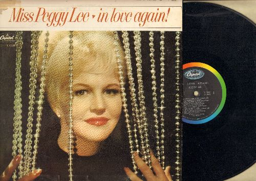 Lee, Peggy - In Love Again!: I Can't Stop Loving You, Unforgettable, I've Got Your Number (vinyl MONO LP record) - NM9/VG7 - LP Records