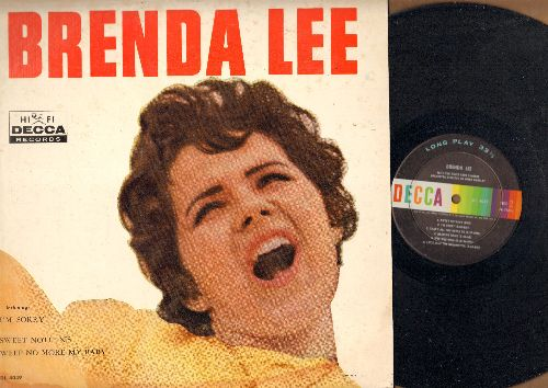 Lee, Brenda - Brenda Lee: Dynamite, Jambalaya, Sweet Nothin's, I'm Sorry, That's All You Gotta Do, Let's Jump The Broomstick (vinyl MONO LP record) - EX8/EX8 - LP Records