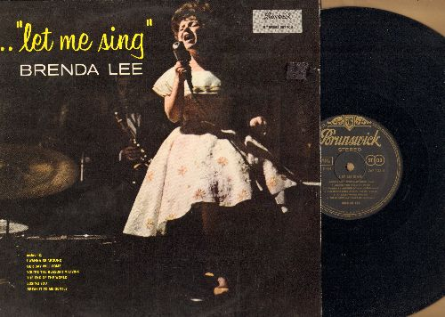 Lee, Brenda - Let It Be Me: He Loves You, Blue Velvet, Can't Buy Me Love, Danke Schoen, As Usual, Tammy, Dancing In The Street (Vinyl STEREO LP record, GERMAN PRESSING) - NM9/EX8 - LP Records