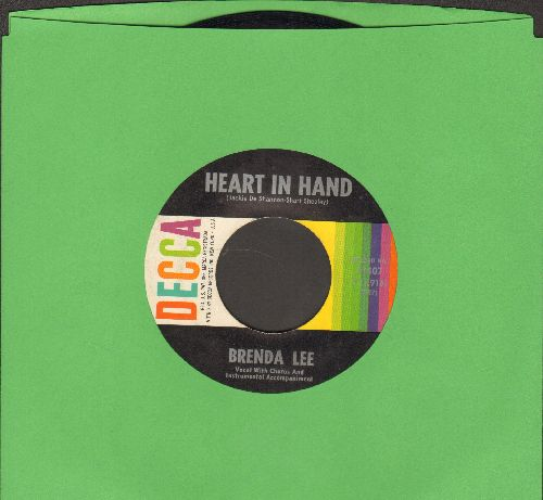 Lee, Brenda - Heart In Hand/It Started All Over  - EX8/ - 45 rpm Records