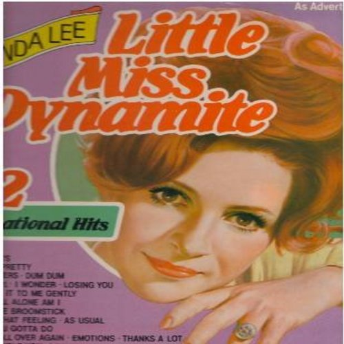 Lee, Brenda - Little Miss Dynamite - 22 Sensational Hits: Sweet Nothin's, Let's Jump The Broomstick, Here Comes That Feeling, I Want To Be Wanted, I'm Sorry, Rockin' Around The Christmas Tree (Vinyl LP record, 1980 pressing of vintage recordings) - NM9/NM