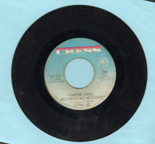 Lee, Laura - Wanted: Lover/Uptight, Good Man - VG7/ - 45 rpm Records