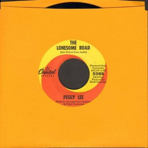 Lee, Peggy - The Lonseome Road/I Feel It - NM9/ - 45 rpm Records