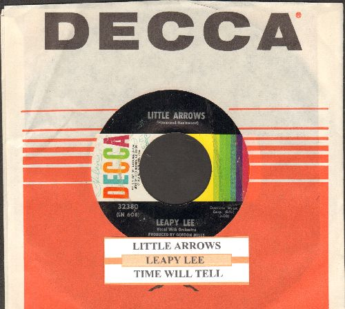 Lee, Leapy - Little Arrows/Time Will Tell (with juke box label and Decca company sleeve) - EX8/ - 45 rpm Records