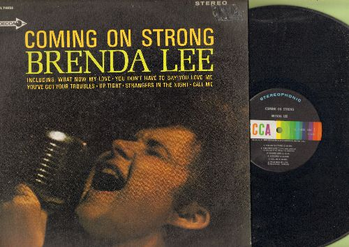 Lee, Brenda - Coming On Strong: What Now My Love, Up Tight, Strangers In The Night, Call Me, You Don't Have To Say You Love Me (Vinyl STEREO LP record) - EX8/EX8 - LP Records