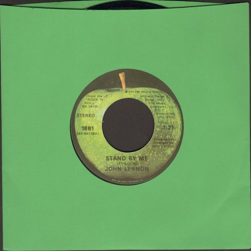 Lennon, John - Stand By Me/Move Over Ms. L  - EX8/ - 45 rpm Records