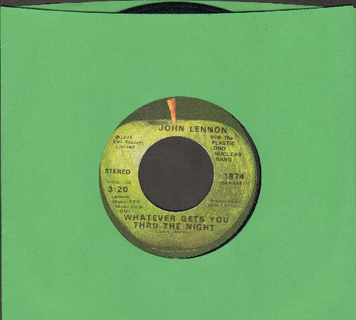 Lennon, John - Whatever Gets You Thru The Night/Beef Jerky - EX8/ - 45 rpm Records