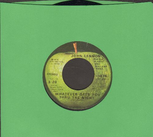 Lennon, John - Whatever Gets You Through The Night/Beef Jerky - EX8/ - 45 rpm Records