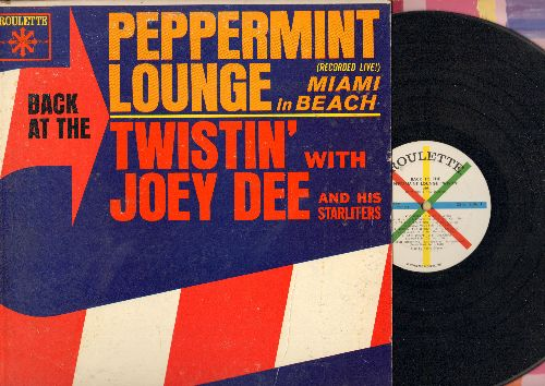 Dee, Joey & The Starliters - Back To The Peppermint Lounge: Money, Slippin' And Slidin', Rain Drops, Will You Love Me Tomorrow (Vinyl MONO LP record) - EX8/VG7 - LP Records
