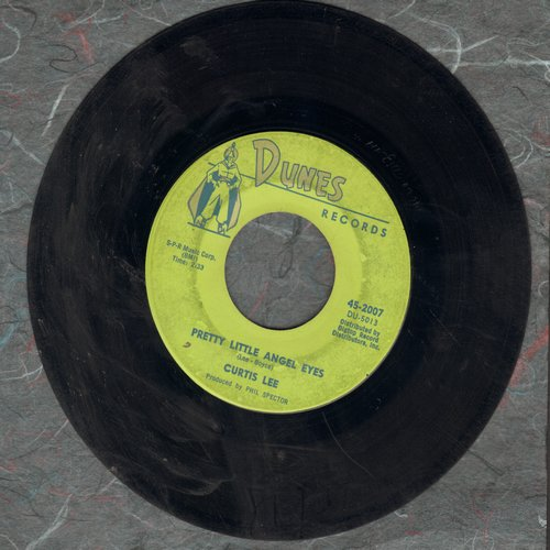 Lee, Curtis - Pretty Little Angel Eyes/Gee How I Wish You Were Here - VG7/ - 45 rpm Records