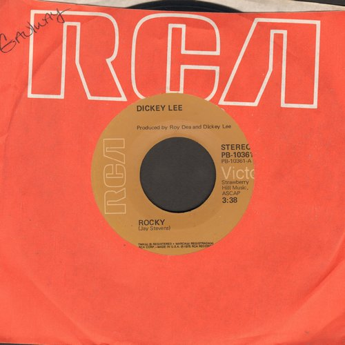 Lee, Dickey - Rocky (#1 World Hit Tear-Jerker!)/The Closest Thing To You - EX8/ - 45 rpm Records
