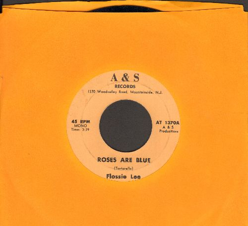 Lee, Flossie - Roses Are Blue/It's A Sin - EX8/ - 45 rpm Records