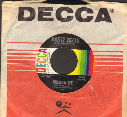 Lee, Brenda - Rusty Bells/If You Don't - NM9/ - 45 rpm Records
