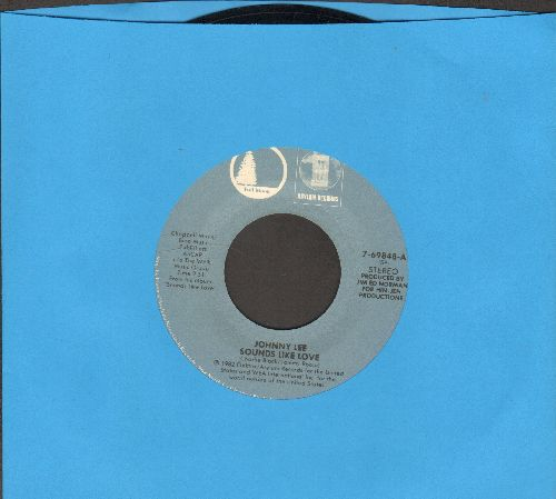 Lee, Johnny - Sounds Like Love/The Deeper We Fall  - NM9/ - 45 rpm Records
