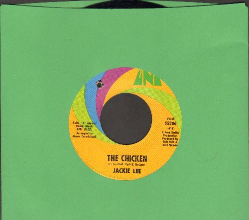 Lee, Jackie - The Chicken/I Lovew You (bb) - NM9/ - 45 rpm Records