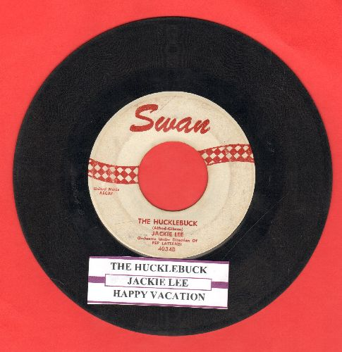 Lee, Jackie - The Hucklebuck/Happy Vacation (with juke box label) - VG7/ - 45 rpm Records