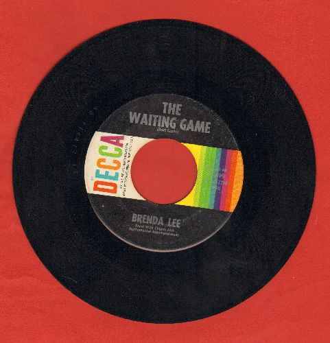 Lee, Brenda - Waiting Game/Think  - VG7/ - 45 rpm Records