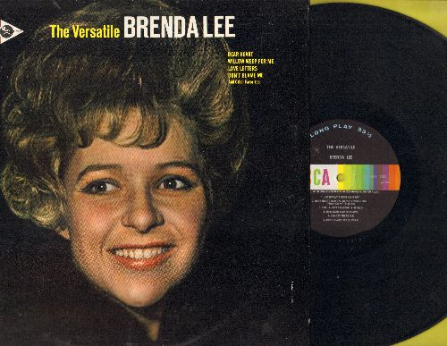 Lee, Brenda - The Versatile Brenda Lee: Yesterday's Gone, La Vie En Rose, The Birds And The Bees, Maybe (Vinyl MONO LP record) - NM9/NM9 - LP Records